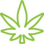 Cannabis Club BC - Buy Weed Online - Weed Icon - Light Green