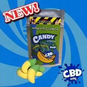 Cannabis Club BC - Buy Weed Online - CBD - Herbivores - Banana Blasts 150mg