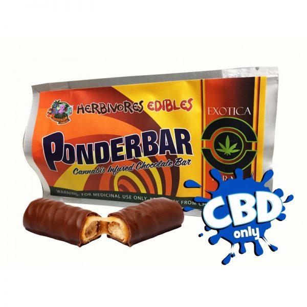 Cannabis Club BC - Buy Weed Online - CBD - Herbivores - Ponderbar 150mg