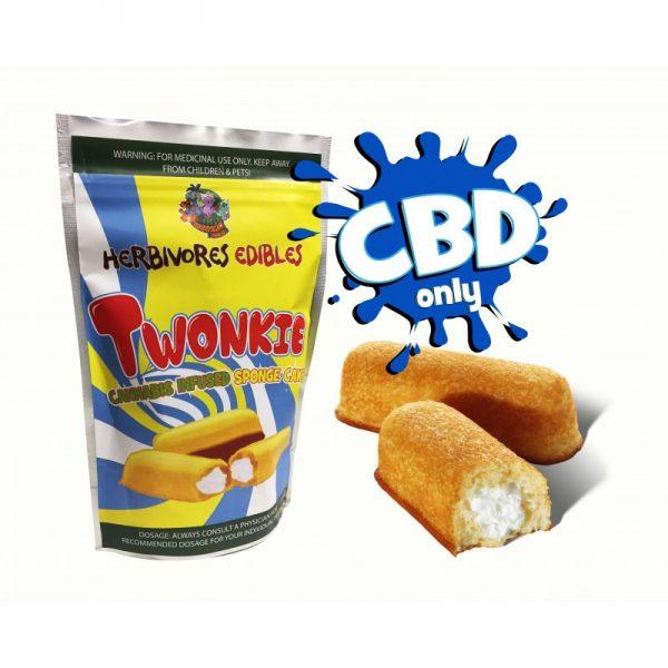 Cannabis Club BC - Buy Weed Online - CBD - Herbivores - Twonkie 150mg