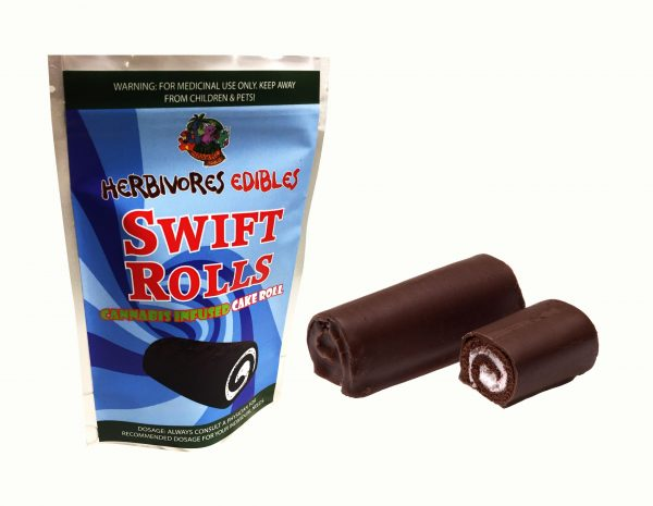Cannabis Club BC - Buy Weed Online - Edibles - Pastries - Herbivores - Swift Roll 150mg THC