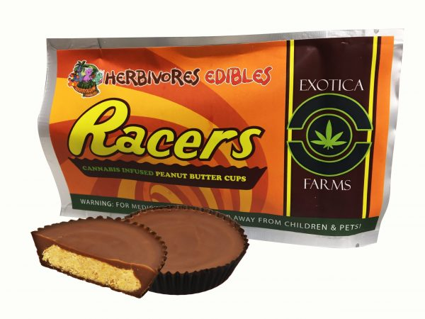 Cannabis Club BC - Buy Weed Online - Edibles - Chocolate - Herbivores - Racer Cups 150mg THC