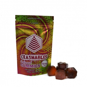 Crashables – Infused Gummies 100mg THC