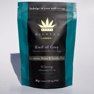 High Tea – Earl Of Grey Tea (100mg THC)